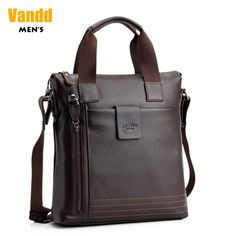 Aliexpress.com : Buy Vandd Men's Genuine Cowhide Leather Brown Zipper Vertical Tote Handbag Casual Shoulder Messenger Bag New from Reliable backpack travel package suppliers on Vandd Men. $75.00