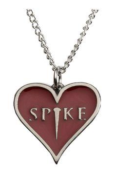 Buffy the Vampire Slayer Inspired Spike Heart Pendant by Tvmerch