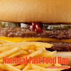 National Fast Food Day - November 16, 2017