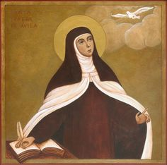 """HAPPY 500TH BIRTHDAY, ST. TERESA OF JESUS OF AVILA! (March 28 1515)  """"I am Yours and born of You, What do You want of me? Majestic Sovereign, Unending wisdom, Kindness pleasing to my soul; """"God sublime, one Being Good, Behold this one so vile. Singing of her love to you: What do You want of me?""""""""  St. Teresa of Avila, pray for us! +++"""