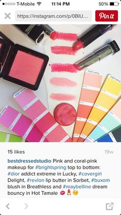 Image result for bright spring makeup