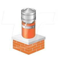 "Made from Stainless Steel, the Smart Storm Cowl is designed to fit an 8"" (200mm) internal diameter chimney pot or extended chimney liner, the external diameter of which would normally be about 9½"" (240mm). Helps to prevent the entry of debris and bird nesting materials. It is very easily fitted with snap over toggles and the skirt and dome design assists in redirecting wind movement so contributing to the prevention of down draughts. #stormcowl, #reducedowndraught, #windcowl, #chimneycowl"