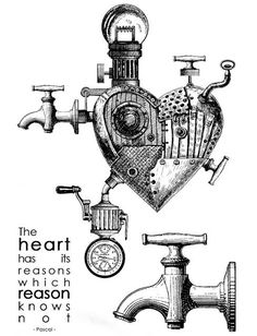 Carabelle Studio - Rubber Cling Stamp Steampunk - The Heart Has Its Reasons Tampon Scrapbooking, Scrapbooking Photo, Diy Scrapbook, Tim Holtz Stamps, Digi Stamps, Craft Stamps, Mix Media, France Art, Supernatural