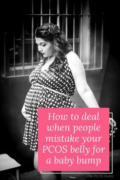 PCOS is plain tough. It hurts when someone asks you about your baby bump when you are struggling with infertility and just have that PCOS belly fat. What do you say to them? Can you lose the PCOS belly fat? #pcos #pcosweightloss #pcosinfertility