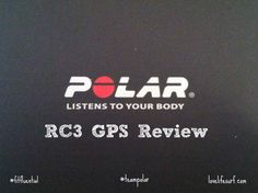 Polar RC3 GPS Review