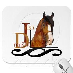 Irish Draught Horse Mouse Mat from Zazzle.com
