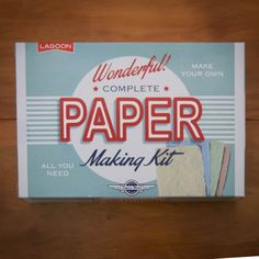 Paper Making Kit | Ivy Lace Gifts