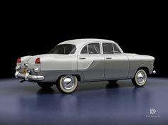 A Garagem Digital de Dan Palatnik | The Digital Garage Project: 1960 Aero Willys (Brasil)