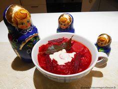 Bortsch végétalien (soupe à la betterave)