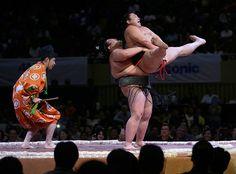 Weekend in pictures: Jakarta, Indonesia: Sumo wrestlers