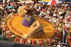 One of the flower displays - Medellin Flower Festival Colombian Culture, Spanish Speaking Countries, Travel Blog, Colombia Travel, Festivals Around The World, Flower Festival, Folk Music, How To Speak Spanish, Topiary