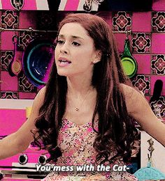 Find images and videos about ariana grande and cat valentine on We Heart It - the app to get lost in what you love. Victorious Nickelodeon, Icarly And Victorious, Ariana Grande Red Hair, Ariana Grande Gif, Yours Truly, Andre Harris, Sam E Cat, Bilal Hassani, Tori Vega