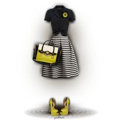 Sassy by cynthia335 on Polyvore featuring Hallhuber, Rumour London and Steve Madden
