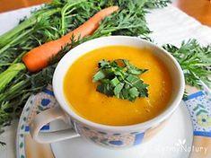 Ta kremowa zupa marchewkowa to istna bomba urodowa! #zupa#danie#rytmynatury#fit#dieta#kuchnia#gotowanie#kulinaria#vege#pycha#marchew#obiad Thai Red Curry, Cantaloupe, Favorite Recipes, Yummy Food, Healthy Recipes, Dinner, Baking, Fruit, Ethnic Recipes