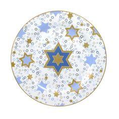 Hanukkah Round Platter
