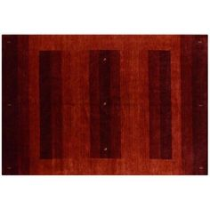 Red Indian Gabbeh Rug - 6′8″ × 9′9″ ($1,955) ❤ liked on Polyvore featuring home, rugs, hand knotted wool rugs, hand knotted rugs, indian area rugs, india wool rugs and red wool area rugs