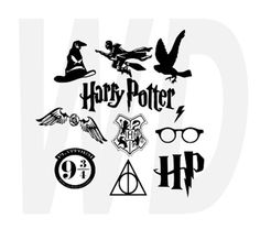 Harry Potter svg dxf eps cutting files for by Walkerdesigns6