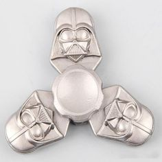 Star War Darth Vader Hand tri Spinner Metal Toy Dark Warrior finger tri-spinner Hand figure For kids Stress Cube Toy Cool Fidget Spinners, Metal Fidget Spinner, Hand Spinner, Fidgit Spinner, Darth Vader Face, Dark Warrior, Cube Toy, Stress Relief Toys