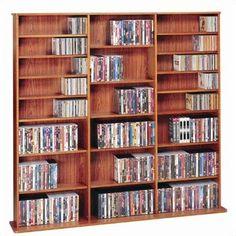 Tori Media Storage Rack