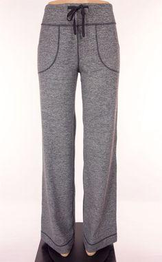 LULULEMON Still Pants Size 6 Tall 6T S Small Brushed Static Coal Gray Sold Out #Lululemon #PantsTightsLeggings