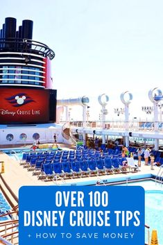 Here are our 100 Best Disney Cruise Tips! - Planning a Disney Cruise is a lot of fun and a lot of work. Here are our 100 Best Disney Cruise Tip - Disney Cruise Tips, Packing For A Cruise, Best Cruise, Cruise Travel, Cruise Vacation, Disney Vacations, Disney Travel, Vacation Ideas, Vacation Pictures
