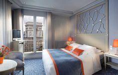 Privilege with view on the Arc de Triomphe - Hôtel Splendid Etoile, Paris. www.hsplendid.com