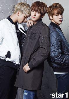 Bangtan Boys BTS Star1 Magazine October 2015 Photoshoot Fashion Interview
