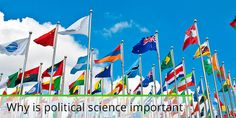 Many people today are not aware of just how many faces and sides there is to politics. Political science is just one, and if you are wondering just how important it is in the grand scale of things, we are here to help you with that answer. When you get into the political science you …