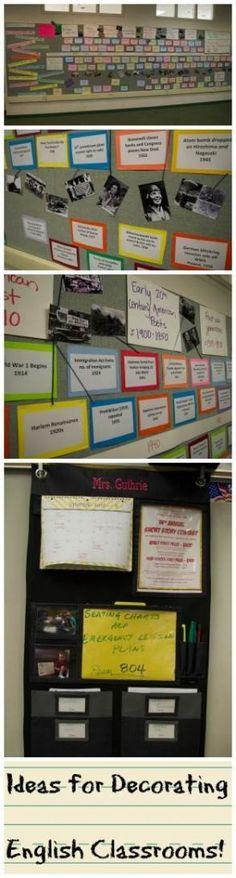 Literature Classroom Decor ~ English classroom on pinterest posters