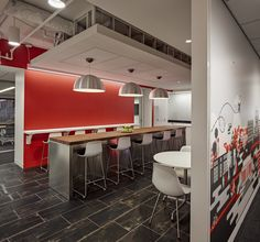 HOK has developed the new offices of international advertising firm Ogilvy located in Washington DC.