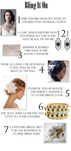 7 spectacular sparkling must-haves for your #wedding