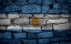 Shop Bricks Wall Argentina flag Throw Pillow created by KeyholeDesign. Custom Pillows, Decorative Pillows, Stencil Street Art, Argentina Flag, Photo To Art, Country Maps, The Right Stuff, Brick Wall, Hd Wallpaper