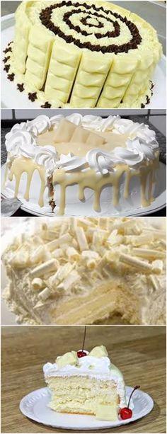 APRENDI A FAZER ESSE DELICIOSO BOLO LAKA, AGORA NÃO QUEREM OUTRO AQUI EM CASA!! VEJA AQUI >>>Coloque os ovos inteiros e o açúcar na batedeira e bata bastante até triplicar de volume. #receita#bolo#torta#doce#sobremesa#aniversario#pudim#mousse#pave#Cheesecake#chocolate#confeitaria Gimme Some Sugar, Chocolates, Dinner Recipes, Dessert Recipes, Vanilla Cake, Mousse, Sweet Treats, Deserts, Food And Drink