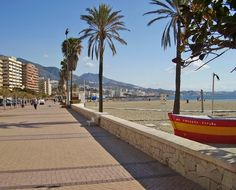 Fuengirola. The beach front
