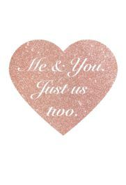 Me & You Just Us Two | The Social Gem (www.thesocialgem.com)