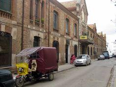 Antiguo cuartel español en la calle Oued Makhazzine, Carlos Cuerda