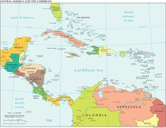 Hurricane Tracking Map Central America