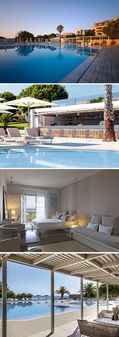 Als je van luxe, stijl en een hoog servicegehalte houdt, dan zit je in dit hotel op Zakynthos goed. Het viersterren The Bay Hotel & Suites biedt een vakantie vol rust, luxe, zon, strand én lekker eten.