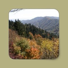 Autumn in the Smoky's Stickers