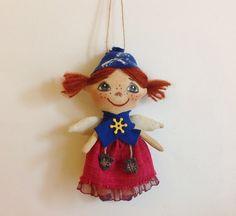20% OFF Christmas sale Christmas Angel-Handmade от NatashaArtDolls