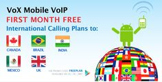 Get Unlimited Free Calls To India, UK & 3 More Countries From Vox Android App | Free Calling Hub
