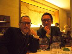 Yukihiro Takahashi and Tomoyasu Hotei