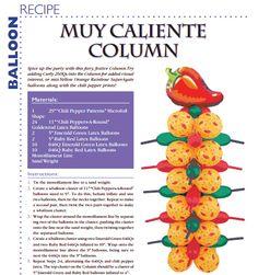 Muy Caliente Column