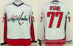 48da9c421 NHL Washington Capitals  77 TJ Oshie White Jersey