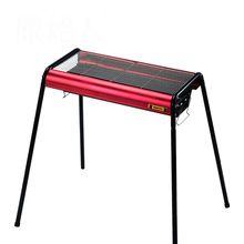 Portable BBQ stove thickened outdoor stainless steel folding grill large charcoal barbecue stove height adjustable //Price: $US $257.40 & Up to 18% Cashback on Orders. //     #gifts