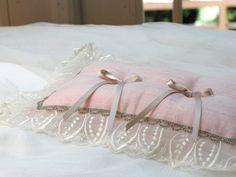 ring pillowピンクリーフ