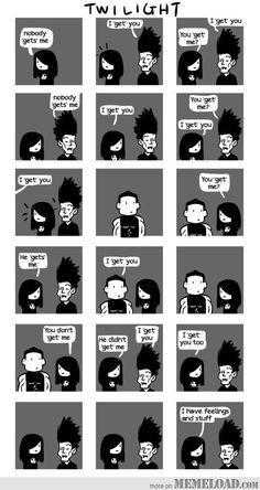 The entire Twilight Saga