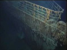 Facts and information about the wreckage of Titanic. Robert Ballard, Relics, artefacts and Titanic Tours. Titanic Today, Real Titanic, Titanic Ship, Titanic History, Titanic Deaths, Original Titanic, Titanic Artifacts, Modern History, Ocean