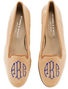 Or NOW!!!!    Maybe a bit much with the monogram for you, Kelly but I can see you rocking these in a few years