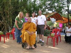 Globe Aware Volunteer Vacations Cambodia Wheel Chair for Local Monk Volunteer Services, Teaching English, Disability, Change The World, Cambodia, Vacations, To My Daughter, Globe, Have Fun